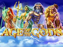 Эпоха Богов - игровой слот с призами за собранные комбинации